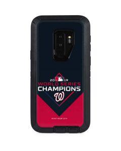 Washington Nationals 2019 World Series Champions Otterbox Defender Galaxy Skin