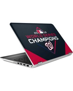 Washington Nationals 2019 World Series Champions HP Pavilion Skin