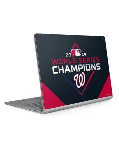 Washington Nationals 2019 World Series Champions Surface Book 2 15in Skin