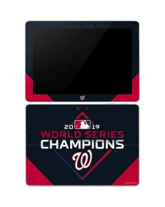 Washington Nationals 2019 World Series Champions Surface Go Skin
