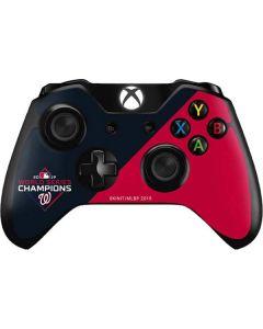 Washington Nationals 2019 World Series Champions Xbox One Controller Skin