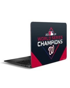 Washington Nationals 2019 World Series Champions Zenbook UX305FA 13.3in Skin
