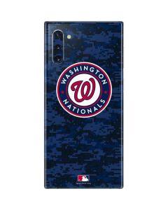 Washington Nationals Digi Camo Galaxy Note 10 Skin
