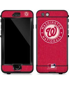Washington Nationals Monotone LifeProof Nuud iPhone Skin