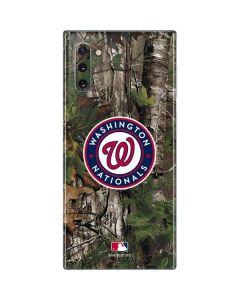 Washington Nationals Realtree Xtra Green Camo Galaxy Note 10 Skin