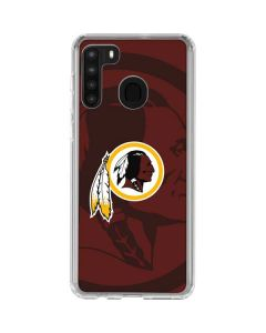 Washington Redskins Double Vision Galaxy A21 Clear Case