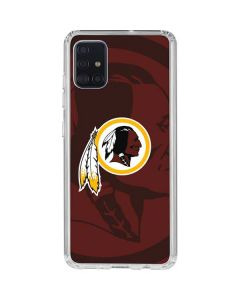 Washington Redskins Double Vision Galaxy A51 Clear Case
