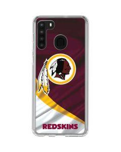 Washington Redskins Galaxy A21 Clear Case
