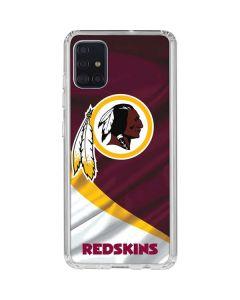 Washington Redskins Galaxy A51 Clear Case