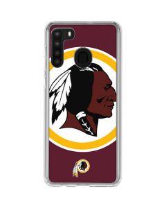 Washington Redskins Large Logo Galaxy A21 Clear Case