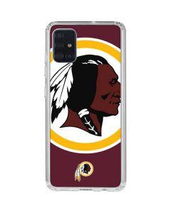 Washington Redskins Large Logo Galaxy A51 Clear Case