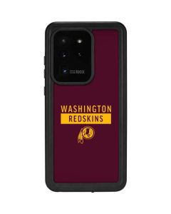 Washington Redskins Maroon Performance Series Galaxy S20 Ultra 5G Waterproof Case