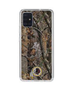 Washington Redskins Realtree AP Camo Galaxy A51 Clear Case