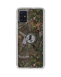 Washington Redskins Realtree Xtra Green Camo Galaxy A51 Clear Case