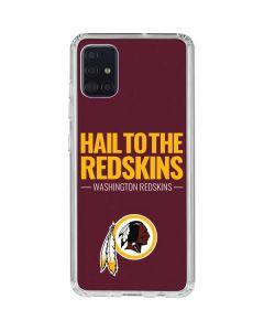 Washington Redskins Team Motto Galaxy A51 Clear Case