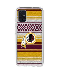 Washington Redskins Trailblazer Galaxy A51 Clear Case