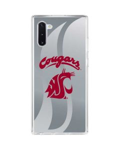 Washington State Cougars Galaxy Note 10 Clear Case