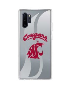 Washington State Cougars Galaxy Note 10 Plus Clear Case