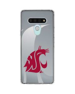 Washington State Cougars LG Stylo 6 Clear Case