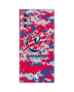 Washington Wizards Digi Camo Galaxy Note 10 Plus Skin