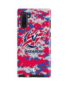 Washington Wizards Digi Camo Galaxy Note 10 Pro Case