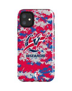 Washington Wizards Digi Camo iPhone 11 Impact Case
