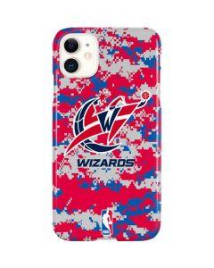 Washington Wizards Digi Camo iPhone 11 Lite Case