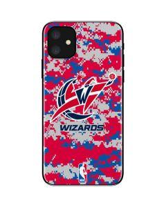 Washington Wizards Digi Camo iPhone 11 Skin