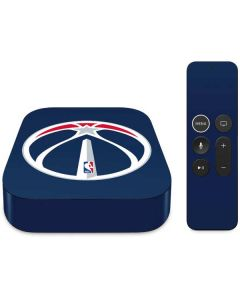 Washington Wizards Large Logo Apple TV Skin