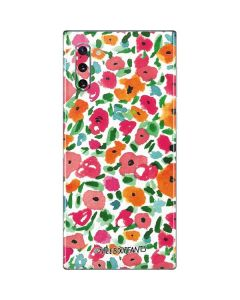 Watercolor Floral Galaxy Note 10 Skin