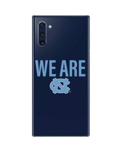 We Are North Carolina Galaxy Note 10 Skin
