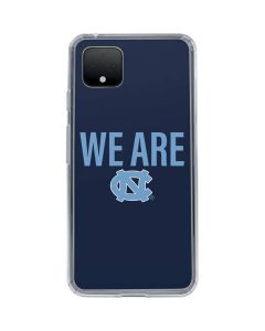 We Are North Carolina Google Pixel 4 XL Clear Case