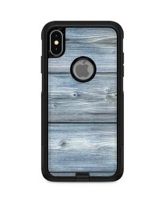Weathered Blue Wood Otterbox Commuter iPhone Skin