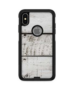 Weathered Wood Otterbox Commuter iPhone Skin