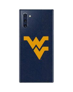 West Virginia Basketball Galaxy Note 10 Skin