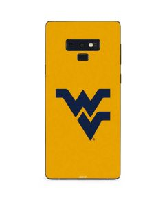 West Virginia Yellow Background Galaxy Note 9 Skin