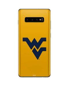West Virginia Yellow Background Galaxy S10 Plus Skin