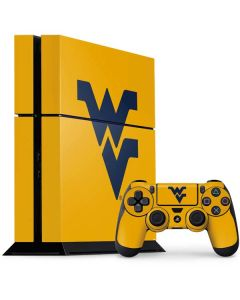 West Virginia Yellow Background PS4 Console and Controller Bundle Skin