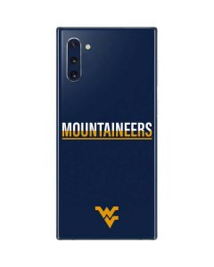 West Virginia Blue Wood Floor Galaxy Note 10 Skin