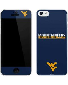 West Virginia Blue Wood Floor iPhone 5c Skin