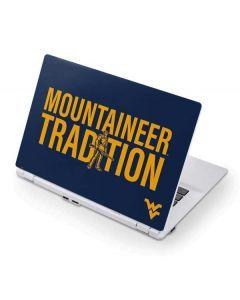 West Virginia  Climb Higher Acer Chromebook Skin