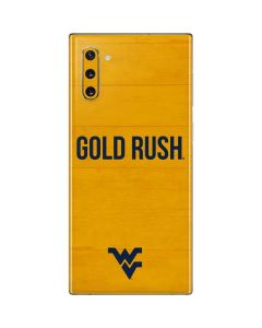 West Virginia Mountaineers Galaxy Note 10 Skin