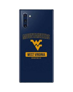 West Virginia Mountaineers Logo Galaxy Note 10 Skin