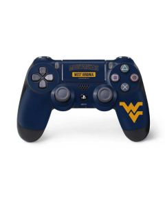West Virginia Mountaineers Logo PS4 Controller Skin