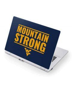 West Virginia University Yellow Acer Chromebook Skin