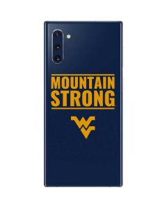 West Virginia University Yellow Galaxy Note 10 Skin