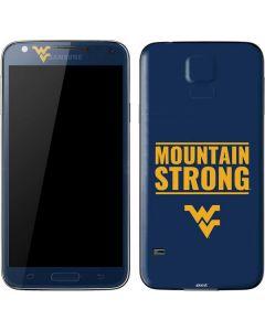 West Virginia University Yellow Galaxy S5 Skin