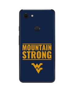 West Virginia University Yellow Google Pixel 3 XL Skin