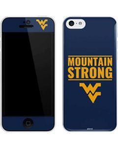 West Virginia University Yellow iPhone 5c Skin