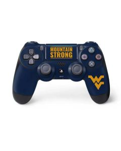 West Virginia University Yellow PS4 Pro/Slim Controller Skin